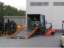 nowa dostawa wózków widłowych