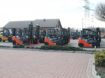 wózki widłowe nowe i używane przeznaczone zarówno na sprzedaż jak i na wynajem
