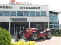 ładowarka teleskopowa manitou firma saw-trak