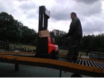wózek widłowy elektryczny nowa dostawa