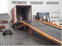 dostawa wózków widłowych do firmy saw-trak
