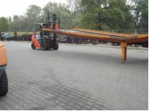dostawa wózków widłowych w firmie saw-trak