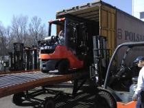 nowa dostawa wózków widłowych toyota