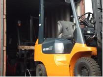 wózek widłowy toyota nowa dostawa