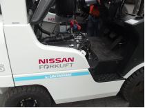 wózek widłowy nissan